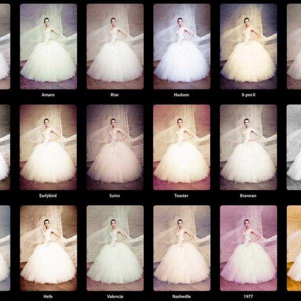 Nuestros vídeos de boda pueden tener el look que más te guste: Natural, vintage, o el de cualquier filtro de Instagram