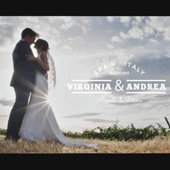 Videos de bodas en Aranda de Duero y Burgos. La boda de V&A