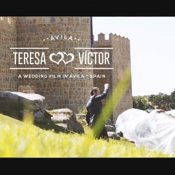 Videos de bodas en Ávila - Boda de T&V