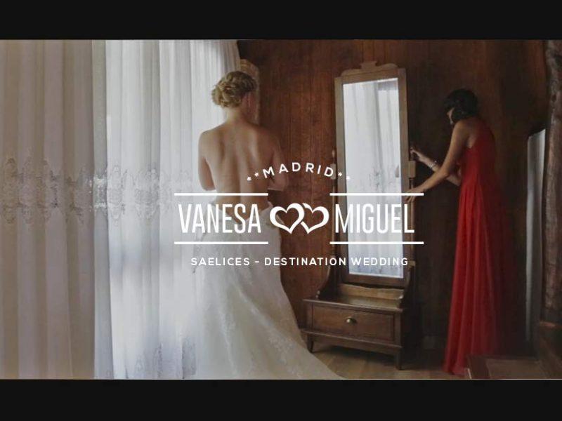 Videos de bodas en Madrid y Cuenca. La boda de V&M