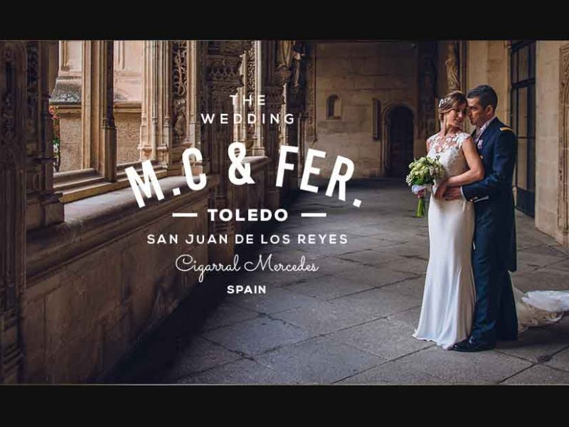 Video de boda en Toledo Mc&F
