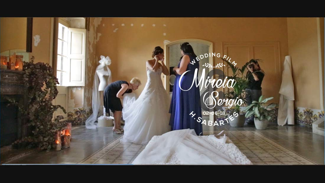 Video de boda en Barcelona y Tarragona