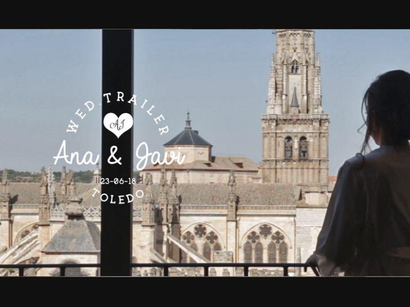 Trailer de bodas en Toledo - A&J de la versión larga de su vídeo de boda.